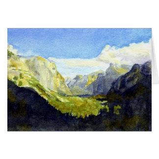 Yosemite National Park, Inspiration Point #2 Card