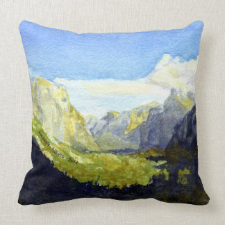 Yosemite National Park, Inspiration Point #2r Pillow