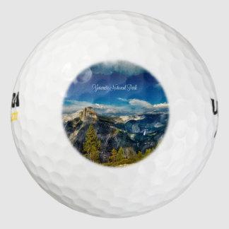 Yosemite National Park, landscape photograph Golf Balls