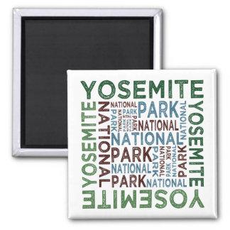 Yosemite National Park Refrigerator Magnet