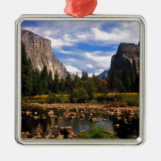 Yosemite National Park Metal Ornament