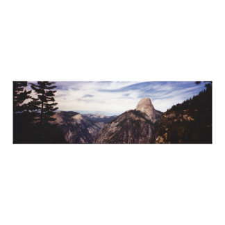 Yosemite National Park Panorama Gallery Wrapped Canvas