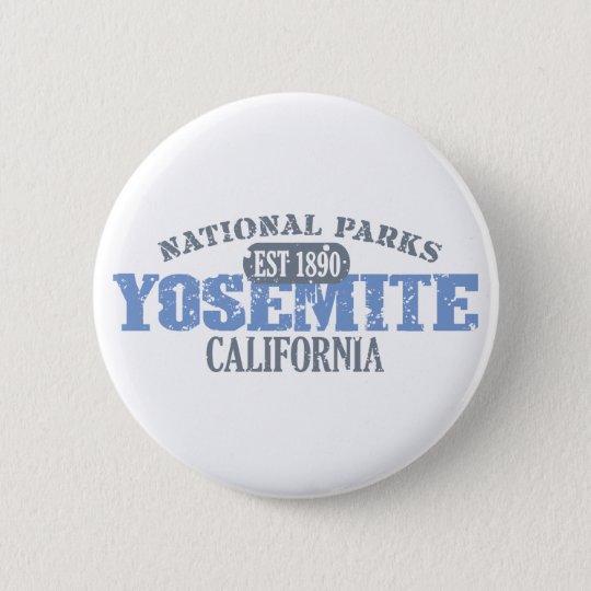Yosemite National Park Pinback Button