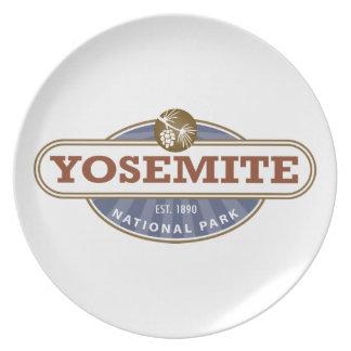 Yosemite National Park Plate