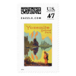Yosemite National Park Postage Stamp