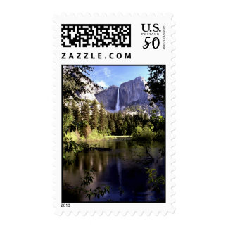 Yosemite National Park postage Stamp