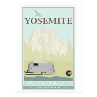 Yosemite National Park Postcard