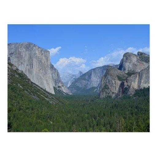 Yosemite National Park Vacations: Yosemite National Park Postcard