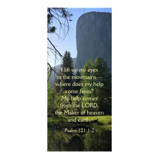 Yosemite National Park Psalm Rack Card