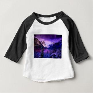 Yosemite National Park Purple Skyline Baby T-Shirt