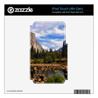 Yosemite National Park iPod Touch 4G Decal