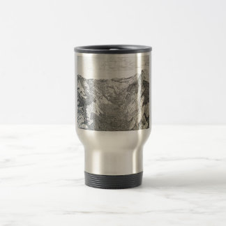 Yosemite National Park (sliver travel mug) Travel Mug