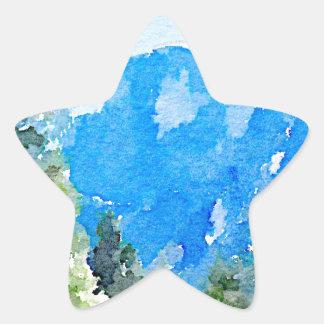 Yosemite National Park Star Sticker