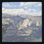 """Yosemite National Park Stone Coaster<br><div class=""""desc"""">A gorgeous photograph of the rocks which was taken at Yosemite National Park in California, USA. Yosemite is one of the premiere National Parks for tourism and tourists each year. This is an excellent gift to commemorate your family's vacation trip there. It also makes an excellent gift for outdoor sportsmen,...</div>"""