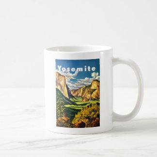 Yosemite National Park Travel Art Coffee Mug