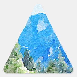 Yosemite National Park Triangle Sticker