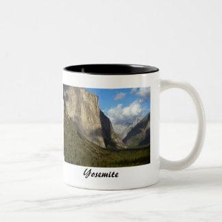 Yosemite National Park Two-Tone Coffee Mug
