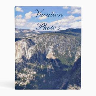 Yosemite National Park Vacation Photo Album Mini Binder