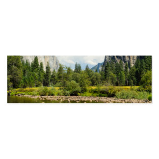 Yosemite National Park Valley View Business Card