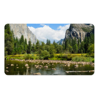 Yosemite National Park Valley View Business Card Template