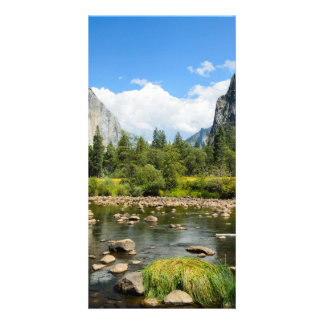 Yosemite National Park Valley View Customized Photo Card