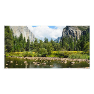 Yosemite National Park Valley View Picture Card