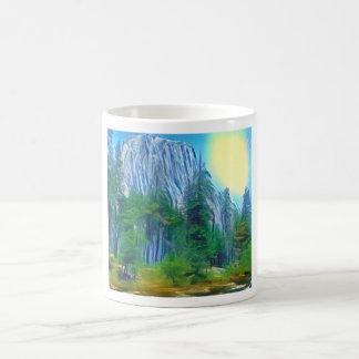 Yosemite No. 3 Mountain and Sun Coffee Mug