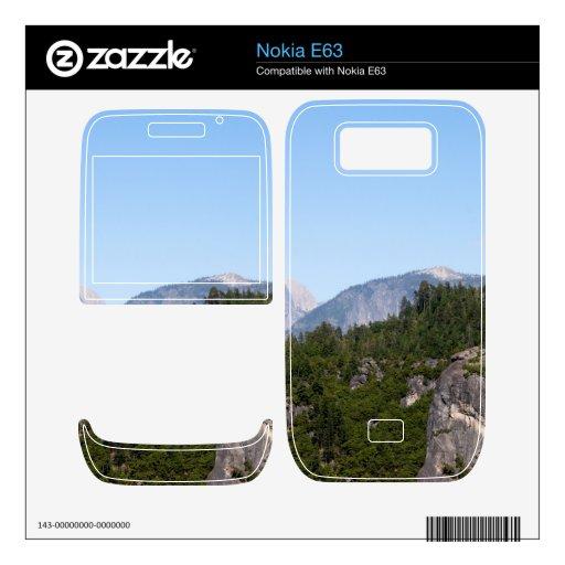 Yosemite Nokia E63 Skin