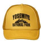 Yosemite Old Style Black Trucker Hat