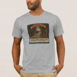 Yosemite Oranges Fruit Crate Label Shirt