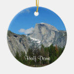 Yosemite Double-Sided Ceramic Round Christmas Ornament