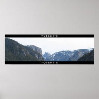 Yosemite Panaramic Póster