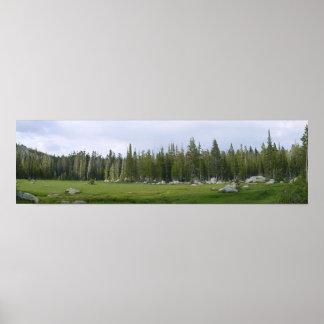 Yosemite Panorama Print