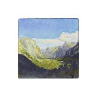 Yosemite, punto de la inspiración imán de piedra