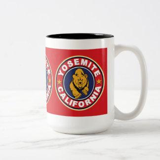 Yosemite Red Circle Two-Tone Coffee Mug