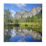 Yosemite Reflection Ceramic Tile