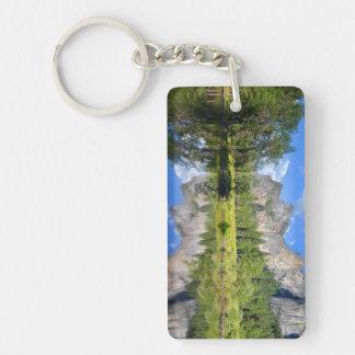 Yosemite Reflection Keychain