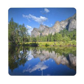 Yosemite Reflection Puzzle Coaster