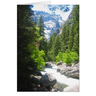 yosemite river card