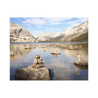 Yosemite Rock Pillars.JPG Canvas Print
