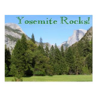 Yosemite Rocks! Postcard