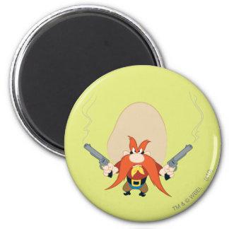 Yosemite Sam Back Off 2 Inch Round Magnet
