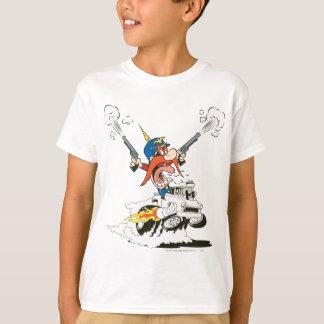 Yosemite Sam Guns Firing T-Shirt