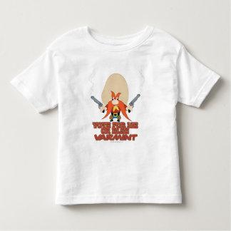 Yosemite Sam - Vote for Me or Else Varmint Toddler T-shirt