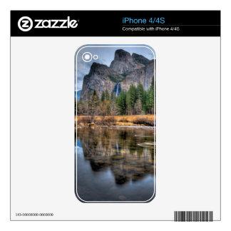 Yosemite Scenic Falls iPhone 4 Decals