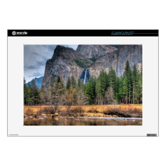 "Yosemite Scenic Falls Decals For 15"" Laptops"