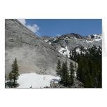Yosemite Snowy Granite Domes Card