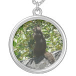 Yosemite Squirrel Nature Animal Photography Silver Plated Necklace