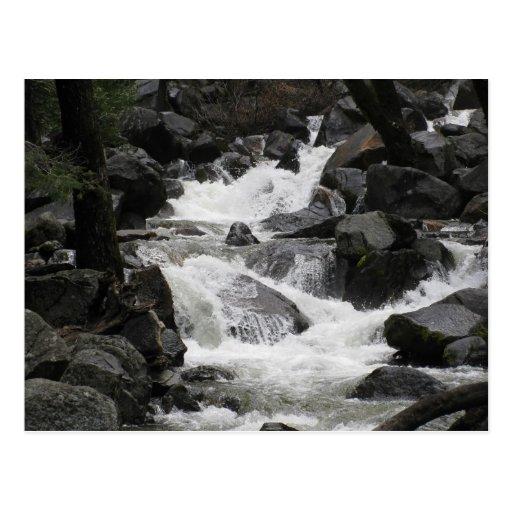 Yosemite Stream Post Cards