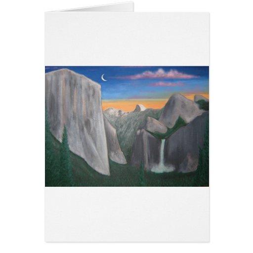 Yosemite Tarjeta De Felicitación